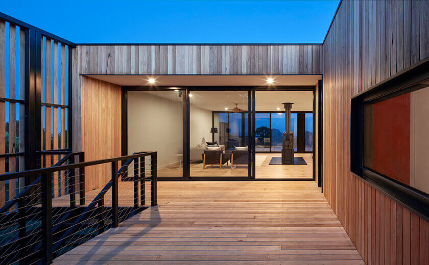 Modular Beach House in Shoreham, VIC