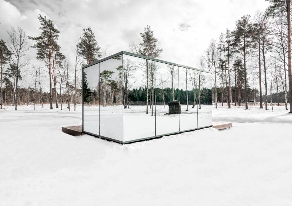 Prefab house in Estonia