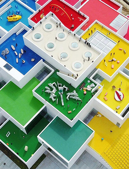 LEGO House in Denmark | Modscape Modular Home