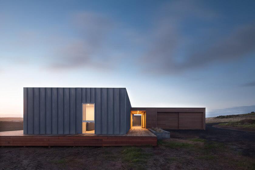 Using zinc in prebuilt homes