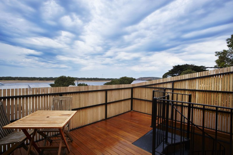 View of river from Barwon Heads Beach House