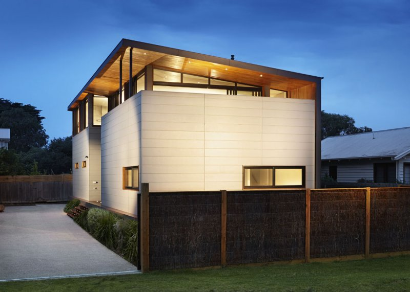 Barwon Heads modular beach house exterior view