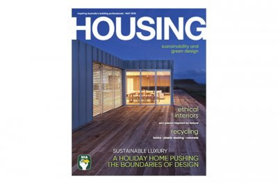 Modscape on HOUSING magazine front cover