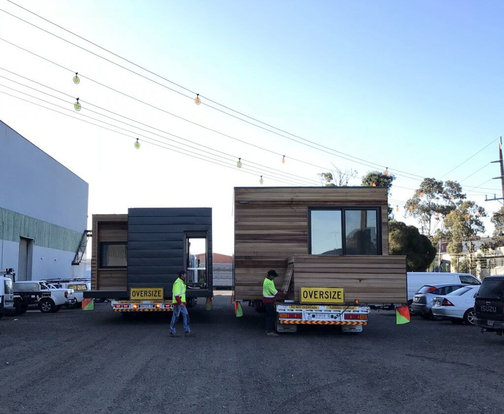 Modular extension by Modscape ready for install