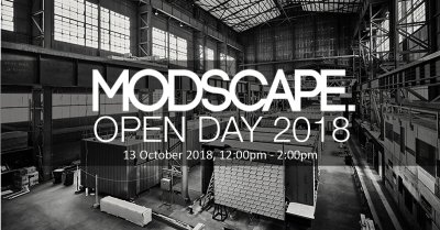 Modscpae Open Day 2018 Banner